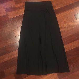 Mossimo Supply Co. black long maxi skirt